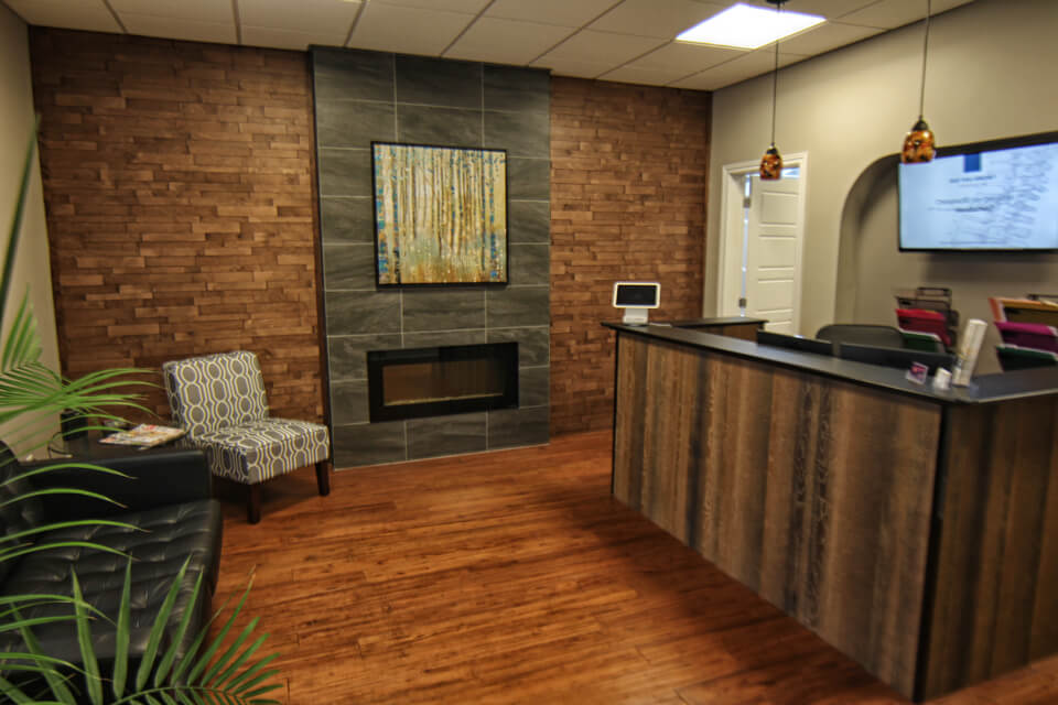 Spine Centre Chiropractic Clinic Waiting Room 1
