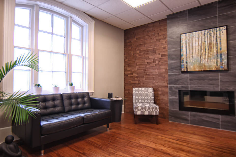 Spine Centre Chiropractic Clinic Waiting Room 2